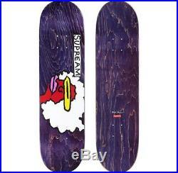 SUPREME Gonz Ramm Skateboard Deck Red Green Purple Yellow box logo camp F/W 17