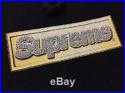 SUPREME HOODED BLING BOX LOGO BLACK L hoodie sweatshirt bogo ss 2013 cdg Hoodie
