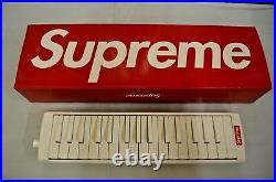 SUPREME Hohner Melodica White Red box logo camp cap keyboard F/W 18