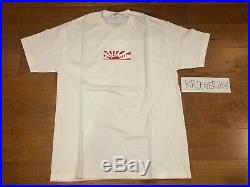 SUPREME Japan Earthquake Relief SS11 Box Logo Tee T-Shirt Size Large L BAPE