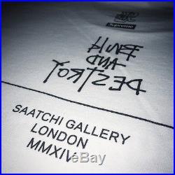 SUPREME MO WAX JAMES LAVELLE XL X-LARGE T-SHIRT TEE BOX LOGO SAATCHI GALLERY