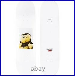 SUPREME Mike Kelley Ahh. Youth! Skateboard Deck White box logo camp cap F/W 18