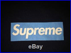 Supreme Og Red Box Logo Tee T-shirt Cdg Undercover Yankees Kermit XL Xlarge Blck