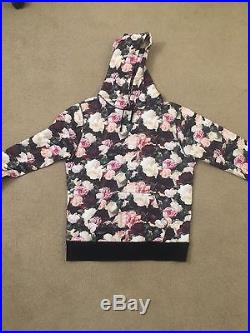 SUPREME PCL FLOWER BOX LOGO PULLOVER HOODIE SWEATER sz Large