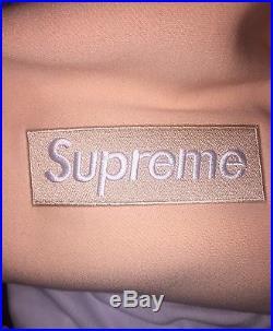 Supreme Peach Box Logo Hoodie