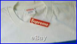 SUPREME RAEKWON BOX LOGO PHOTO TEE SHIRT ELMO SZ. LARGE NEW NWT WITH TAGS rare $