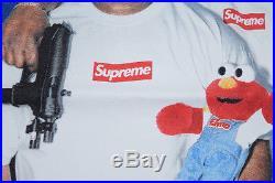 SUPREME RAEKWON TEE WHITE L T-Shirt Box Logo Dipset Tyson RZA CDG Hirst 36 Mafia