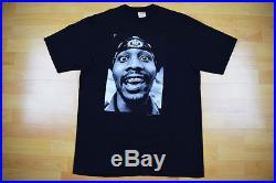 SUPREME RZA TEE BLACK L T-Shirt Box Logo Raekwon Dipset Tyson CDG Hirst Prodigy