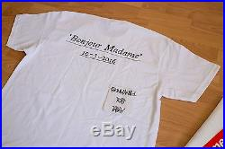 Supreme Ss 16 Tee Shirt Box Logo Paris Opening Bonjour Madame Sz XL Brand New