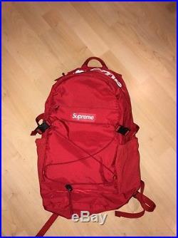 Supreme S/s 2016 Backpack Tonal Red Royal Box Logo