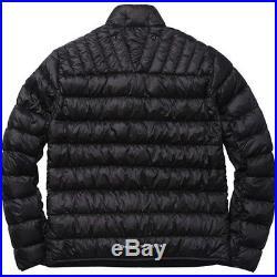 SUPREME Stone Island Raso Gommato Cover Nero Jacket Black M box logo camp F/W 14