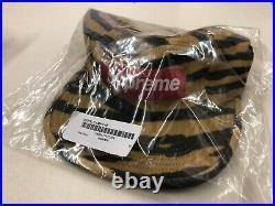 SUPREME Wool Camp Cap Tiger Stripe box logo camp cap F/W 19