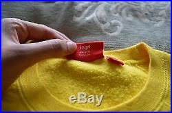 SUPREME X PLAYBOY Short Sleeve Crewneck Yellow Large BOX LOGO SOLD OUT DS SS/16