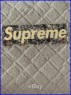SUPREME box-logo sticker lot Jackson P, Lv Set, Gucci Set. 100% Authentic