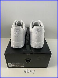 SUPREME x AIR FORCE 1 LOW BOX LOGO -WHITE SIZE 10