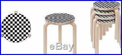 SUPREME x Artek Aalto Stool 60 Checkerboard Black White box logo camp cap S/S 17