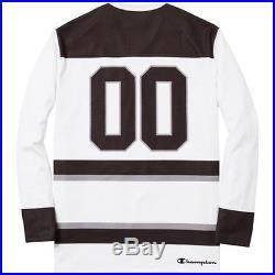 SUPREME x Champion Hockey Top White M Box Logo camp cap kate moss S/S 14