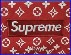SUPREME x L V BOX LOGO HOODIE COLLAB SIZE S, LARGE, XL AND XXL AVAILABLE