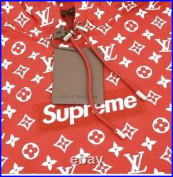 SUPREME x L V BOX LOGO HOODIE SIZE, SMALL, MEDIUM, LARGE, XL, XXL AVAILABLE