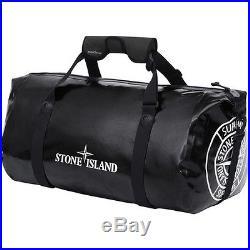 SUPREME x Stone Island x Ortlieb PVC Duffle Bag Black box logo camp cap S/S 16