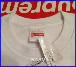 SUPREME x UNDERCOVER SYNHEAD TEE White Sz M L XL T-Shirt Box Logo CDG 20th 2015