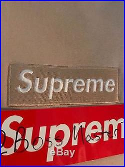 Sand Box Logo Hoodie Large Supreme NY RARE GRAIL 1/1