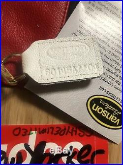Ss17 Sz XL Supreme X Vanson Motor Leather Star Jacket White / Red Box Logo