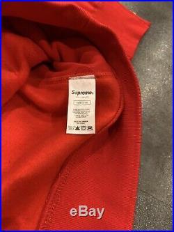 Suprem Bandana Box Logo Hooded Color Red Hoodie Size M, L, XL (Ask Seller!)