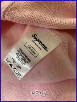 Suprem Bandana Box Logo Hooded Size L Color Pink