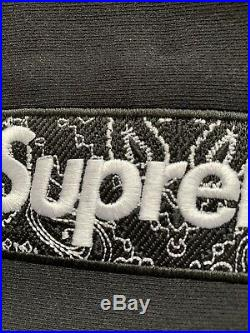 Suprem Bandana Box Logo Hooded Size M Color Black