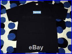 Supreme 05 Og Box Logo Tee T-shirt Cdg Undercover Yankees Kermit XL Xlarge Navy