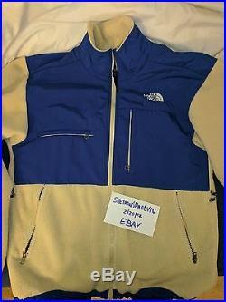 Supreme 08F/W The North Face Denali Jacket Rare TNF Cream Size M nuptse box logo