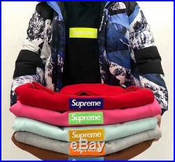Supreme 17FW Black Box Logo hoodie Size X-Large