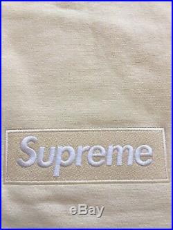 Supreme 18FW White Box Logo crewneck box logo Size Large