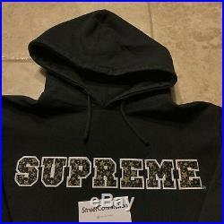 Supreme 2003 Stars Pullover Nike SB Dunk Hi Size Large Black Used Rare Box Logo