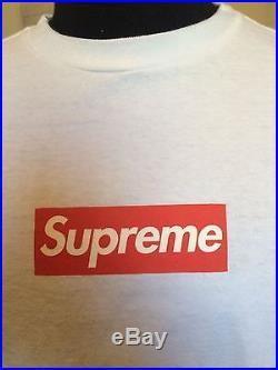 Supreme 2005 Box Logo Shirt Very Rare 100% Authentic
