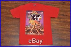 Supreme 2006 Rasin Hell Tee Box Logo Photo Red Size Large L Sade Gangster Nas