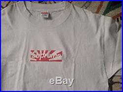 Supreme 2011 Japan Relief Box Logo tee shirt size medium rare vintage