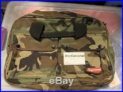 Supreme 2012 Woodland Camo Messenger Bag Used Flaws Box Logo