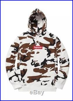 Supreme 2016F/W Box Logo Hoodie Camo Size M 1000% Authentic