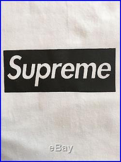 Supreme 2016 Paris Box Logo Tee Shirt