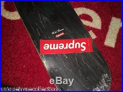 Supreme 2016 S/s Box Logo Alessandro Mendini Skateboard Deck Blue Sealed