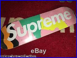 Supreme 2016 S/s Box Logo Alessandro Mendini Skateboard Deck Pink Sealed