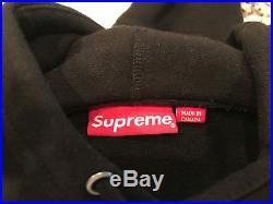 Supreme 2017 FW Supreme Box Logo Hoodie Black Size XL