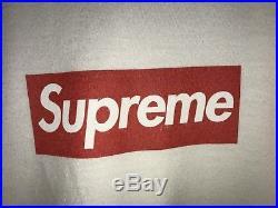 Supreme 20th Anniversary BOX LOGO TEE WHITE SIZE XL RARE 100% AUTHENTIC
