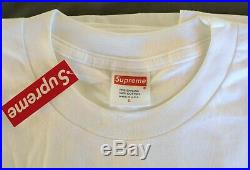 Supreme 20th Anniversary Bogo Box Logo SS14 Tee Shirt Large White NWT
