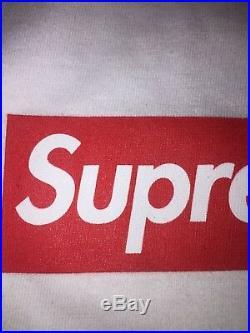 Supreme 20th Anniversary Box Logo Bogo Tee White Large SS14 Brand New