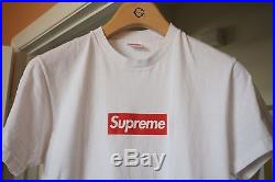 Supreme 20th Anniversary box logo tee, Size M