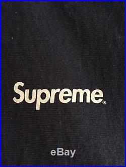 Supreme 3M Reflective Hoodie Sweatshirt Navy Large L Box Logo