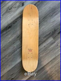 Supreme Arabic Green White Skateboard Deck Box Logo